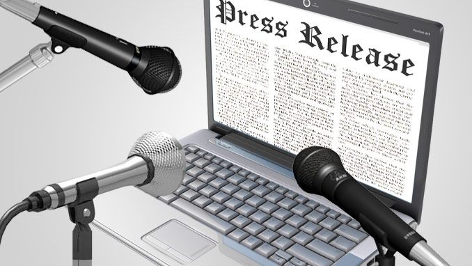 Help writing press releases